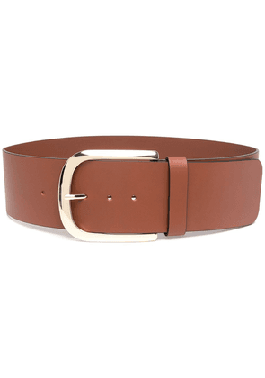 Erika Cavallini leather belt - Brown