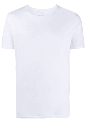 Majestic Filatures rolled-edge short sleeve T-shirt - White