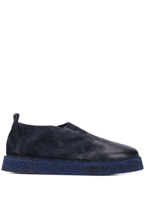 Marsèll distressed slip-on loafers - Blue