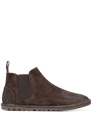 Marsèll textured ankle boots - Brown