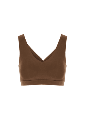 Chantelle Soft Stretch Walnut Padded Soft-cup Bra