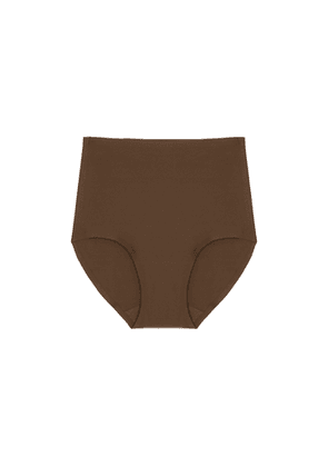 Chantelle Soft Stretch Walnut High-waist Briefs