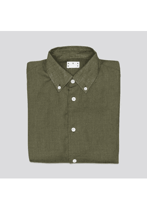 The Linen Shirt Olive