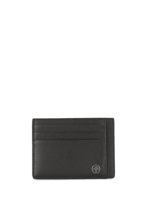 Mulberry Tree plaque leather cardholder - Black
