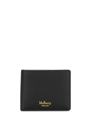 Mulberry pebbled-effect bifold wallet - Black