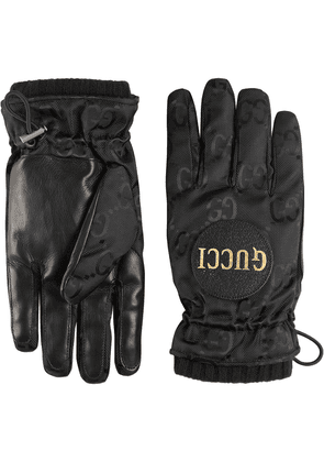 Gucci Off The Grid GG gloves - Black