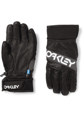 Oakley - Factory Winter 2 FN Dry and Leather Gloves - Men - Black