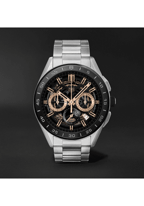 TAG Heuer - Connected Modular 45mm Steel and Rubber Smart Watch, Ref. No. SBG8A10.BA0646 - Men - Black