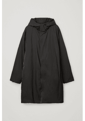 RECYCLED POLYAMIDE DOWN LINED WATERPROOF COAT