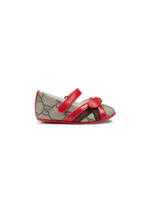 Toddler GG ballet flats with bow