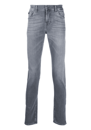 7 For All Mankind Ronnie special edition slim fit jeans - Grey