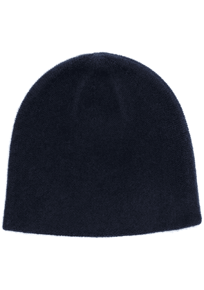 N.Peal cashmere knitted beanie - Blue