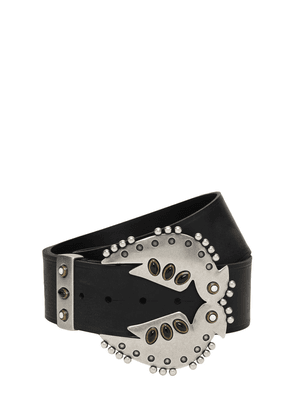 50mm Abigail Leather Belt