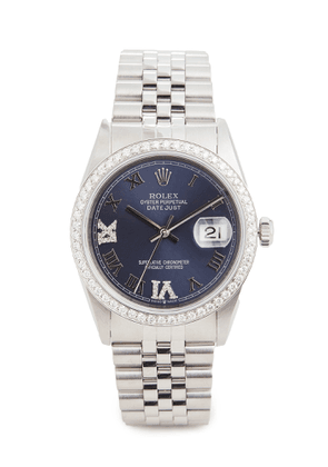Pre-Owned Rolex 36mm Gents Rolex Date Just Purple Watch