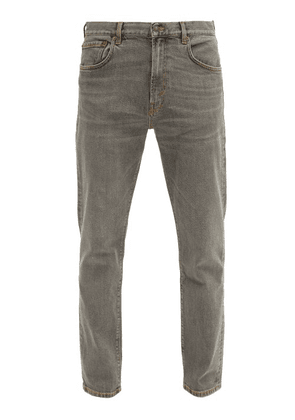 Jeanerica Jeans & Co. - Tm005 Tapered-leg Jeans - Mens - Grey