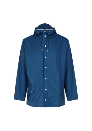 Rains Blue Rubberised Raincoat