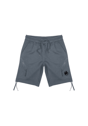C.P. Company Steel Blue Cotton Shorts