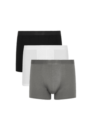 CDLP Stretch-lyocell Boxer Briefs - Set Of Three