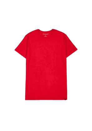 Derek Rose Basel 9 Red Stretch-jersey T-shirt