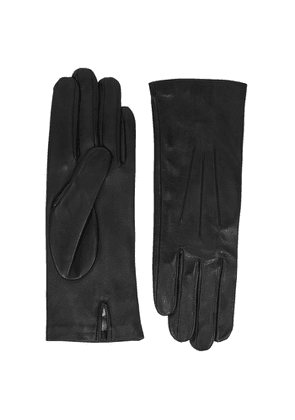 Dents Felicity Black Leather Gloves