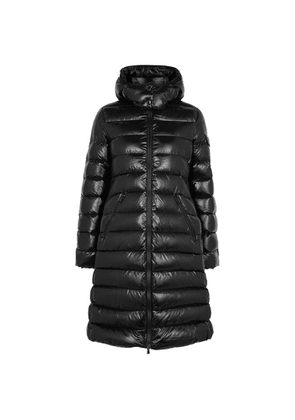 Moncler Moka Black Quilted Shell Jacket