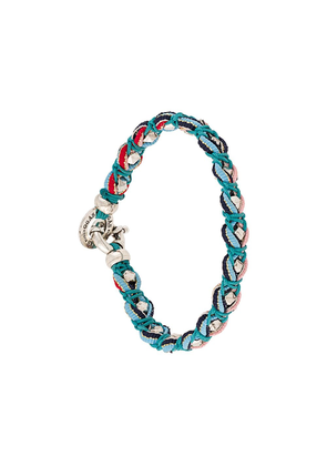 Gas Bijoux braided bracelet - Blue