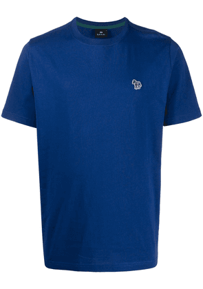 PS Paul Smith patch detail short-sleeved T-shirt - Blue