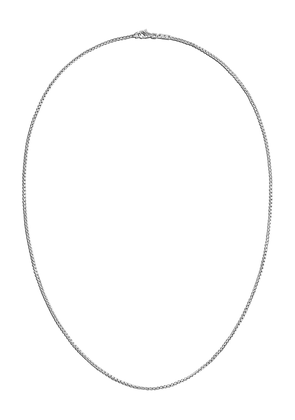 John Hardy Box Chain necklace - SILVER