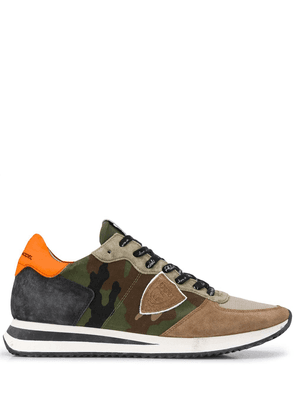 Philippe Model Paris TRPX camouflage sneakers - Green