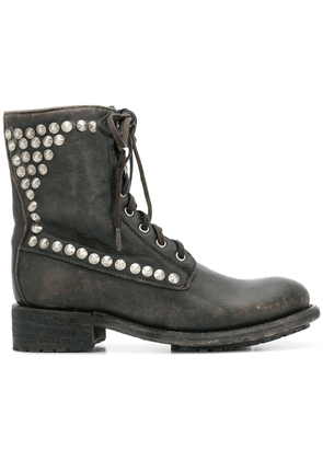 Ash Ralph lace-up boots - Black