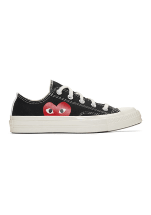 Comme des Garcons Play Black Converse Edition Chuck Taylor All-Star 70 Sneakers