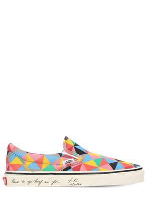 Faith Ringgold Slip-on Sneakers