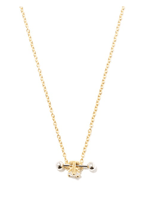 Delfina Delettrez - Two In One Diamond & 18kt Gold Pendant Necklace - Womens - Yellow Gold