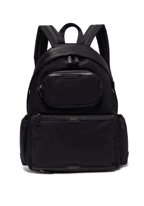 Anya Hindmarch - Cycling Recycled-canvas Backpack - Womens - Black Multi