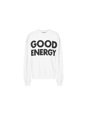 Good Energy Cotton Sweatshirt