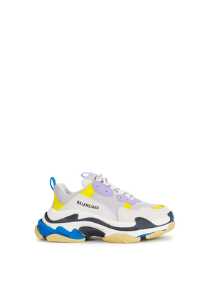 Balenciaga Triple S Off-white Mesh Sneakers