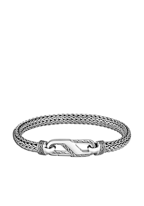 John Hardy Classic Chain 6.5mm small station bracelet - SILVER