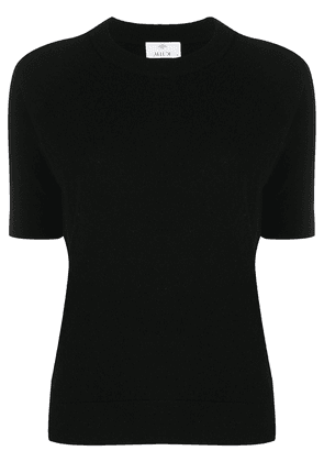 Allude cashmere knit t-shirt - Black