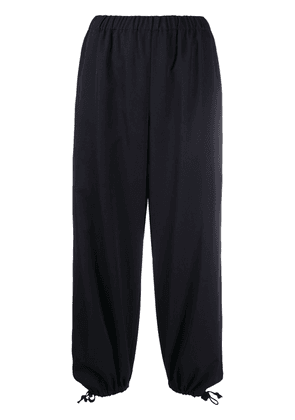 Comme Des Garçons Girl cropped tapered-leg trousers - Black