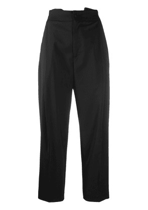 Barena high-waisted cropped trousers - Black
