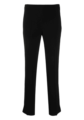 Alberto Biani cropped pull-on trousers - Black
