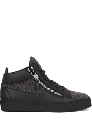 Giuseppe Zanotti Kriss high-top sneakers - Grey