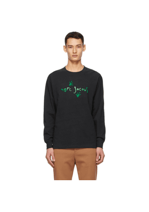 Marc Jacobs Black Heaven by Marc Jacobs Frog Footsteps Long Sleeve T-Shirt