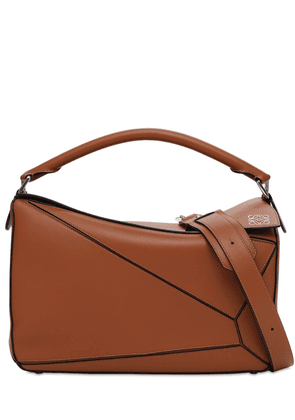 Puzzle Large Leather Bag