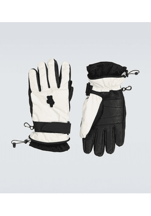 3 MONCLER GRENOBLE padded ski gloves