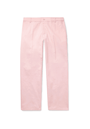 Noon Goons - Club Twill Trousers - Men - Pink