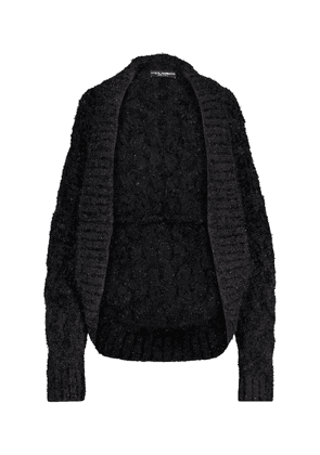 Cashmere and wool-blend cardigan