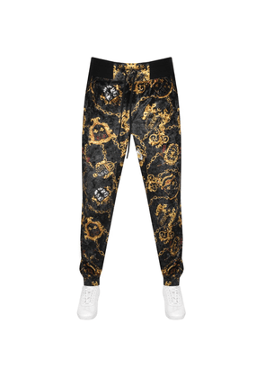 Versace Jeans Couture Logo Jogging Bottoms Black