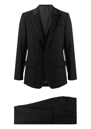 Wool Blend-silk Two-piece Single-breasted Suit