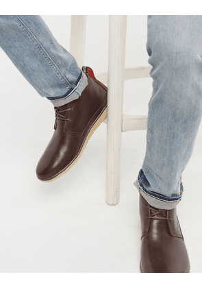 UGG waterproof chukka boot in grizzly-Brown